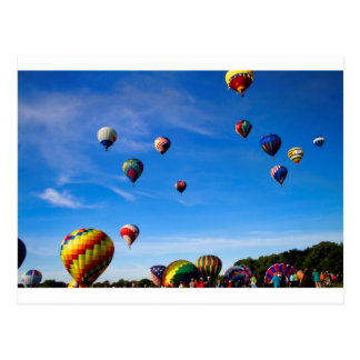 Hot Air Balloon Festival Postcard