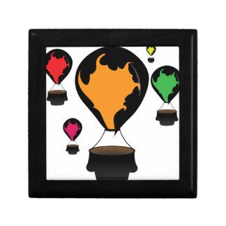 Hot air balloon gift box