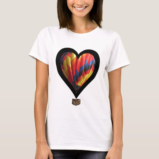 hot air balloon heart T-Shirt
