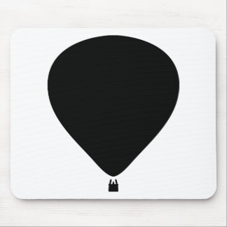 hot-air balloon icon mouse mat