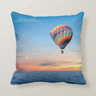 Hot Air Balloon image for Throw crushions Cushion