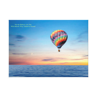 Hot Air Balloon image for Wrapped canvas