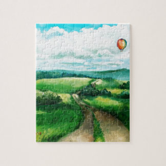 Hot air balloon jigsaw puzzle