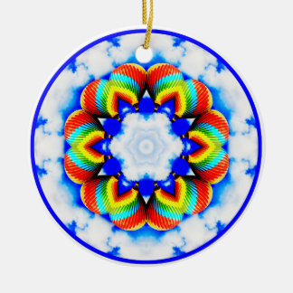 Hot Air Balloon Kaleidoscope Ornament