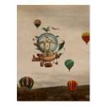 Hot Air Balloon, La Minerve 1803  travel in style