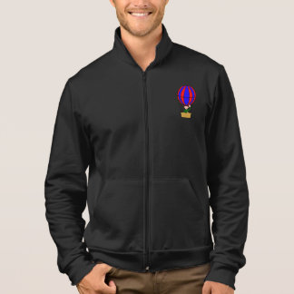 Hot Air Balloon Mens Jacket
