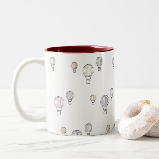 Hot Air Balloon Mug - Colour