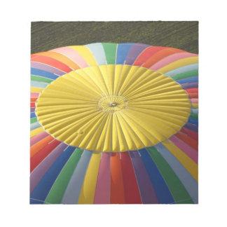 Hot-air Balloon, near Methven, Canterbury 2 Notepad