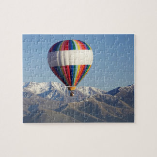 Hot-air Balloon, near Methven, Canterbury Jigsaw Puzzle
