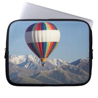 Hot-air Balloon, near Methven, Canterbury Laptop Sleeve