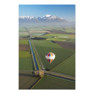 Hot-air Balloon, near Methven, Canterbury Photograph