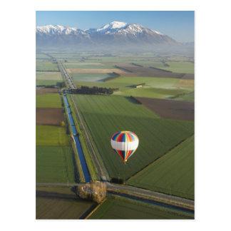 Hot-air Balloon, near Methven, Canterbury Postcard