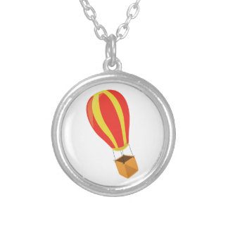 Hot Air Balloon Personalized Necklace