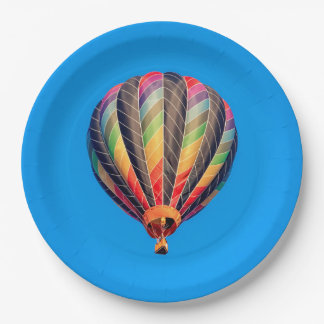 Hot Air Balloon Paper Plate