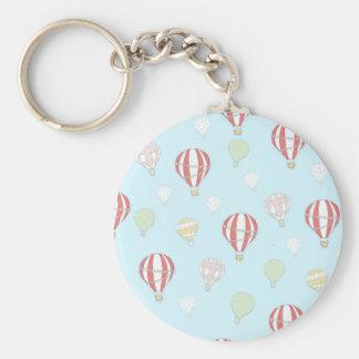 Hot Air Balloon Parade Key Ring