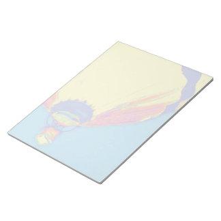 Hot Air Balloon- Pastel Notepad