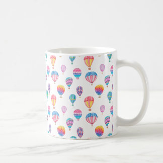 Hot Air Balloon Pattern Coffee Mug