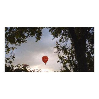 Hot Air Balloon Photo Greeting Card