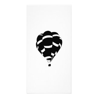 Hot Air Balloon Custom Photo Card