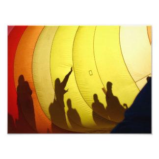 Hot Air Balloon Photo Print