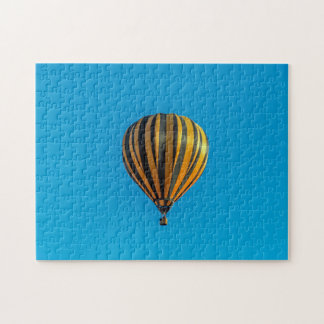 Hot air balloon photo puzzle