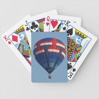 Hot Air Balloon Playing Cards