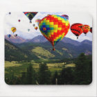 Hot Air Balloon Ride in the Rockies Mouse Mat