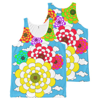 hot air balloon show All-Over print tank top