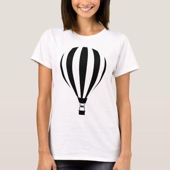 Hot Air Balloon Silhouette T-Shirt