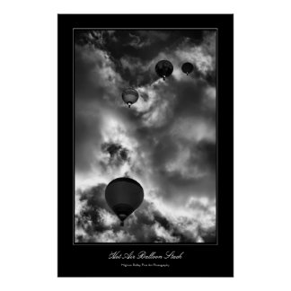Hot Air Balloon Stack Fine Art Photo Poster