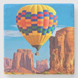 hot air balloon stone coaster