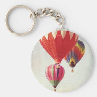Hot Air Balloon Trio Keychains