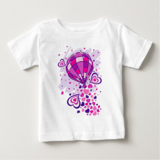Hot_Air_Balloon_Trip Baby T-Shirt