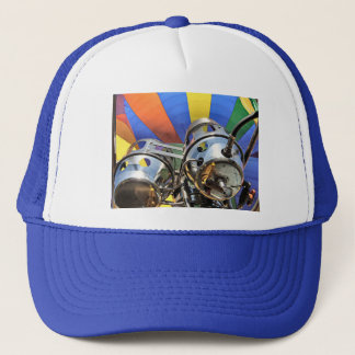Hot air balloon trucker hat