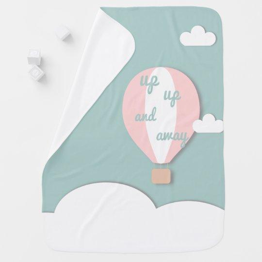 Hot Air Balloon, Up Up and Away Pink