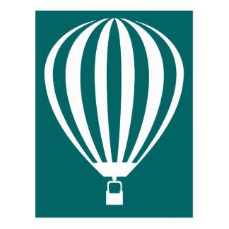 hot air balloon v.2 postcard