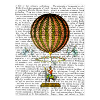 Hot Air Balloon Zephire 2 Postcard