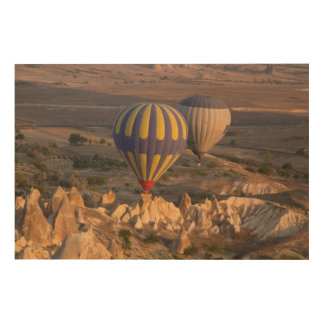 Hot Air Ballooning In Turkey Wood Wall Art