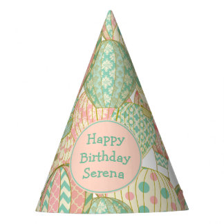 Hot Air Balloons Birthday Party Party Hat