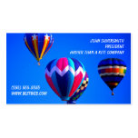 Hot Air Balloons Double-Sided Standard Business Cards (Pack Of 100)