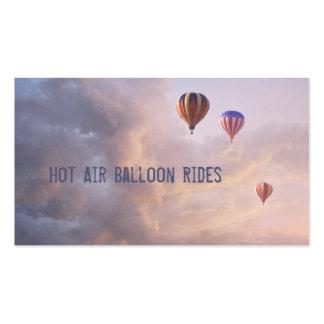 Hot Air Balloons Business Card Templates
