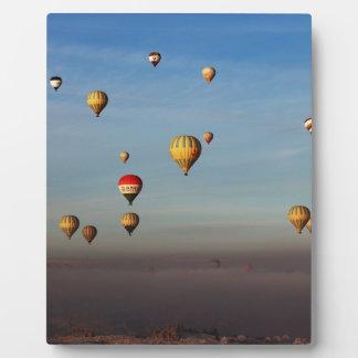 Hot Air Balloons, Cappadocia Plaque