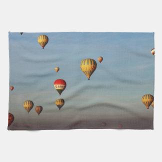 Hot Air Balloons, Cappadocia Tea Towel
