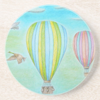 hot air balloons coasters