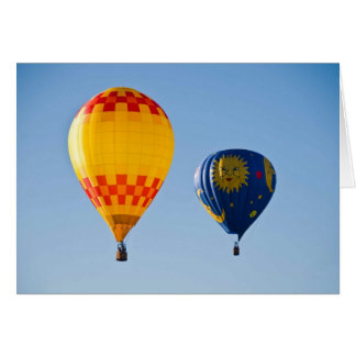 Hot Air Balloons Greeting Card