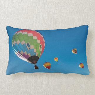 Hot Air Balloons Lumbar Cushion