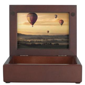 Hot air balloons memory boxes