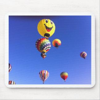 Hot air balloons mouse mat