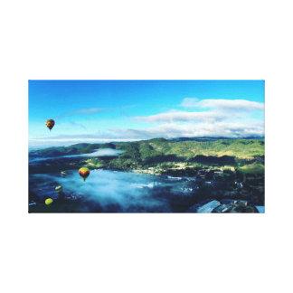 Hot Air Balloons, Napa Valley Canvas Print