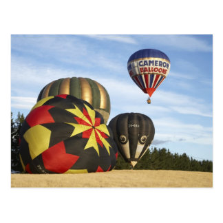 Hot Air Balloons near Wanaka, South Island, New Postcard